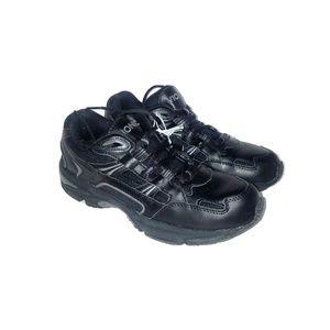 Vionic Womens Orthoheel Walker Black Sneakers